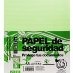 Papel Seguridad Verde