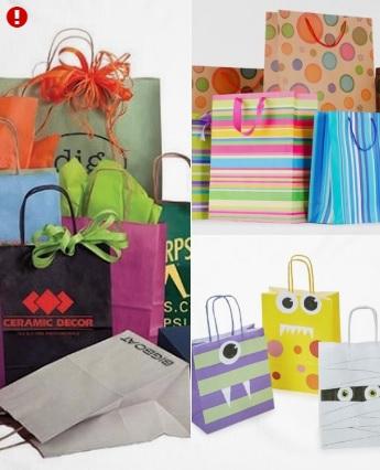 bolsas de papel papeleria ecologica
